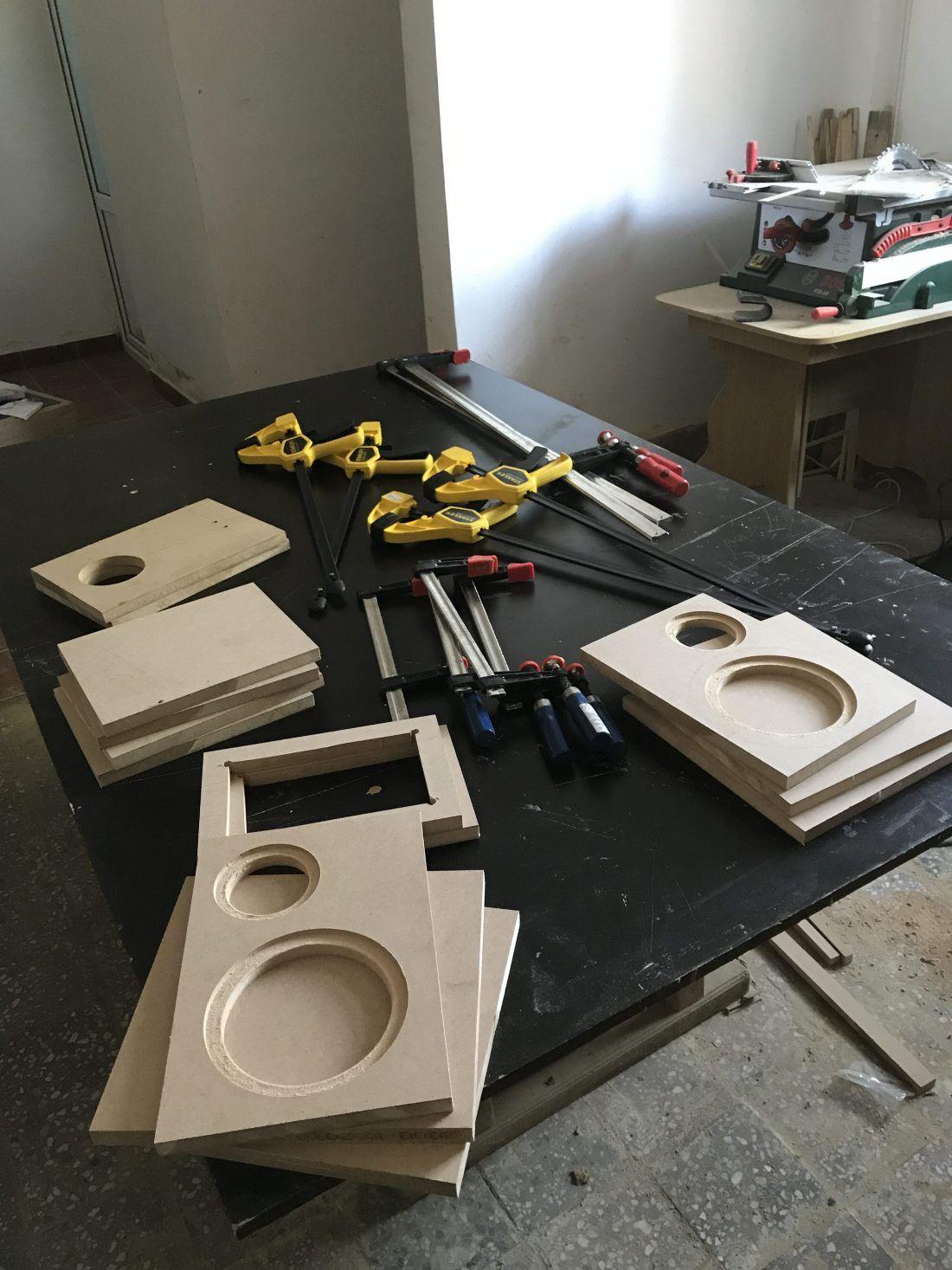 DIY speaker plans 2 way bookshelf kit Diy speakers