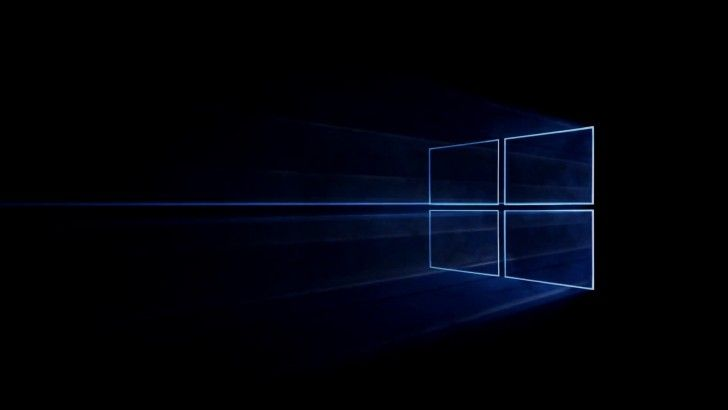 Download Windows 10 Logo Simple Black Background HD 1920x1080