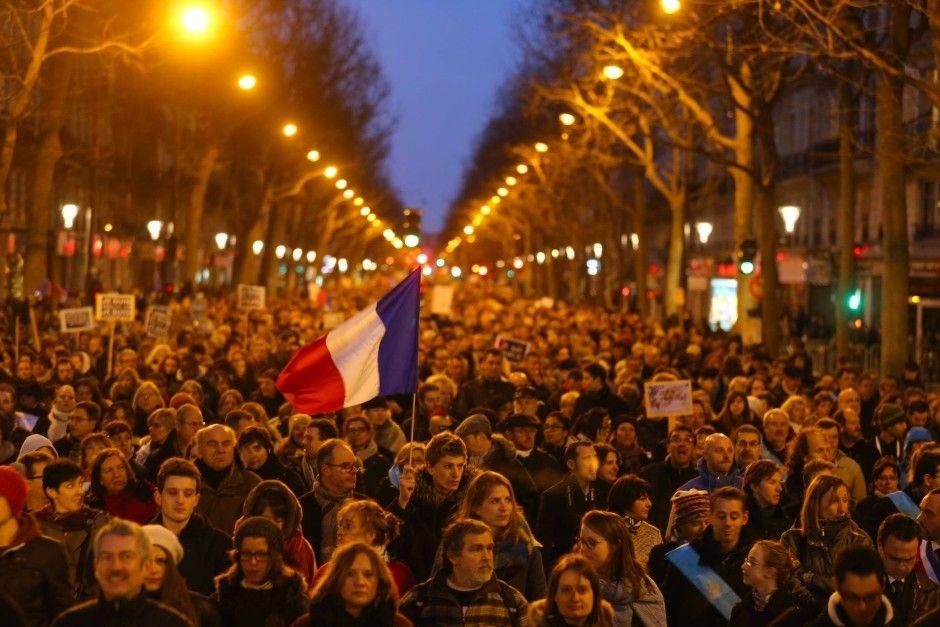 Bilderstrecke zu: Solidaritätsmarsch von Paris: Trotzig gegen den Terror - Bild 3 von 19 - FAZ
