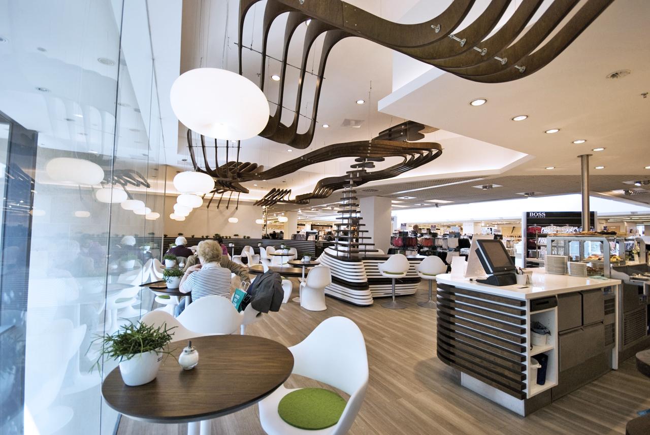 Gallery of Green Bistro Interior Design / Siddik Erdogan + Jörn ...