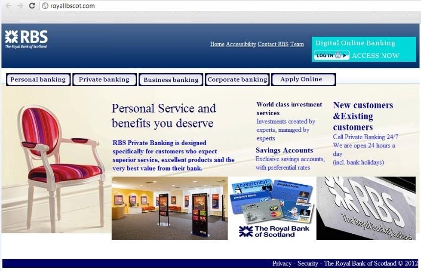 Online Banking Scams In The Uk Increasing In Frequency