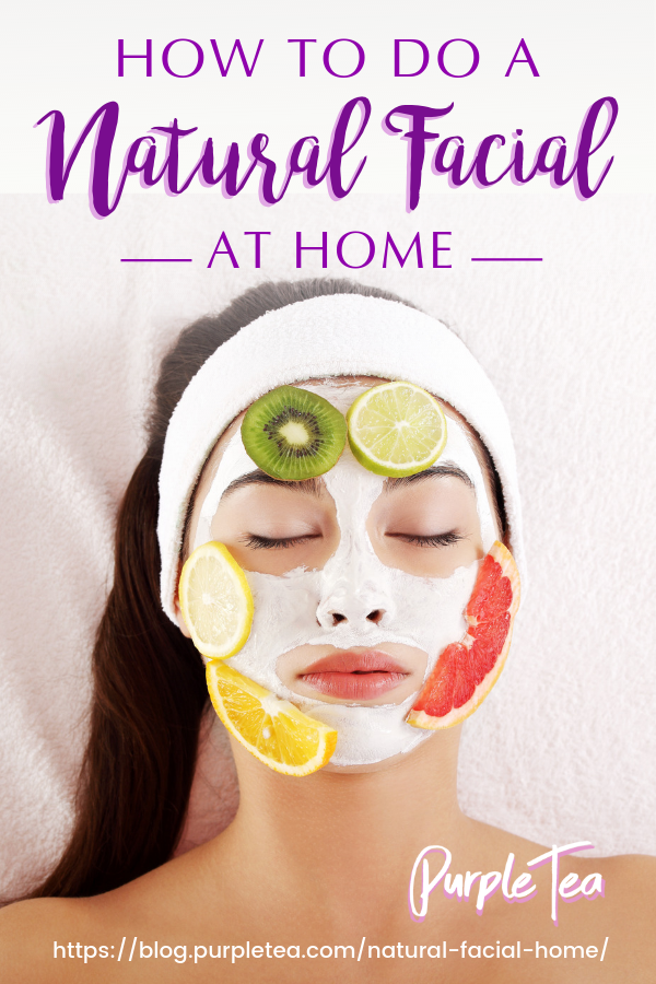 How To Do A Natural Facial At Home Or Give Yourself A Natural Facial At Home Pamper Your Skin With An Ea Natural Facial Home Facial Treatments Face Treatment