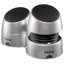 HOME iHM79WC Rechargeable Mini Speakers - $69.95 & FREE Shipping   http://bestportablewirelessspeakers.com/ihome-im60gt-aux-portable-speaker/  #iHome#minispeakers#rechargeablespeakers
