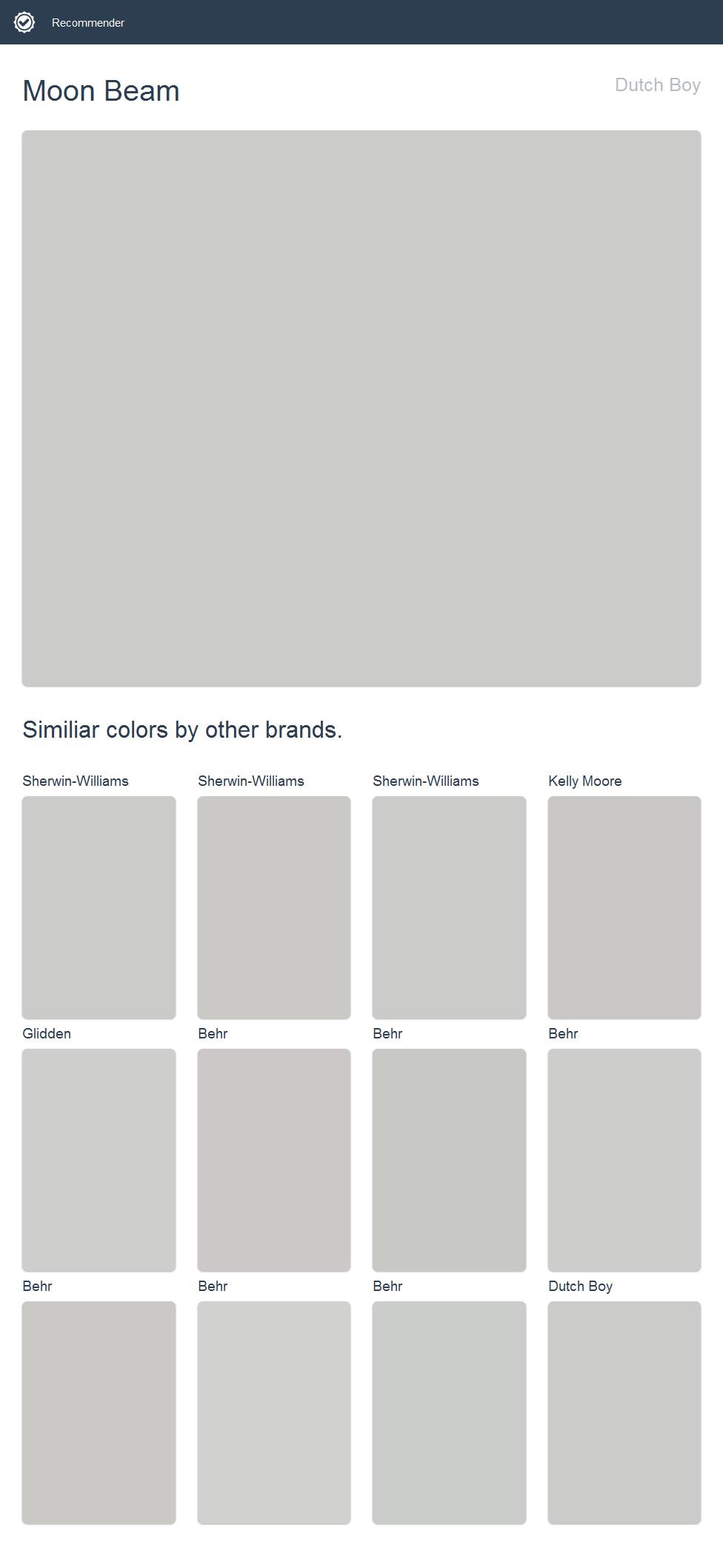 Dutch Boy Paint Color Chart : dutch, paint, color, chart, Dutch, Google, Search, Porter, Paint, Colors,, Floor, Color, Visualizer