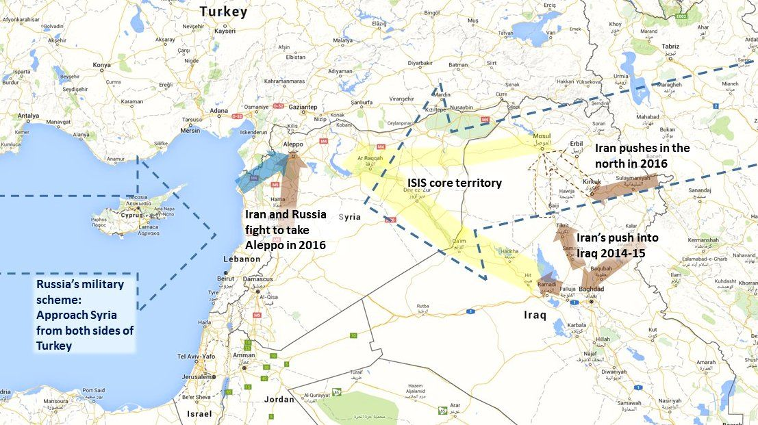The iranian push into iraq and the iranian russian push into syria the iranian push into iraq and the iranian russian push into syria all gumiabroncs Gallery