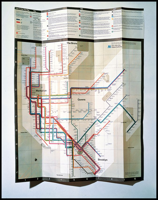 Subway Map Creator New York.Massimo Vignelli Creator Of Timeless Design And Fearless Critic Of