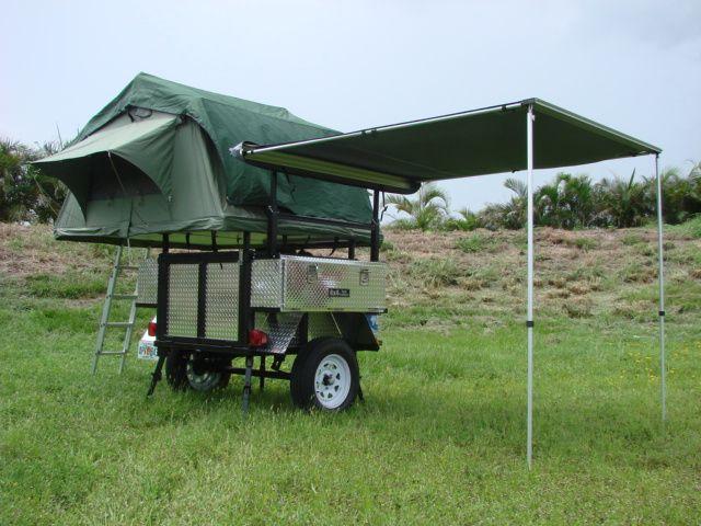 Overland Traileru0027s 4X4 Tent Trailer & Overland Traileru0027s 4X4 Tent Trailer | Trailers | Pinterest | Tent ...