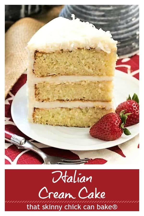 Nut Free Italian Cream Cake Three Tender Layers Of Coconut