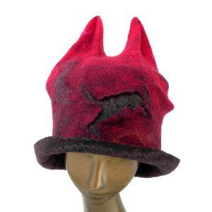 TAFA: The Textile and Fiber Art List | Felt Happiness Hats – Gibsonia – Pennsylvania – United States – Accessories