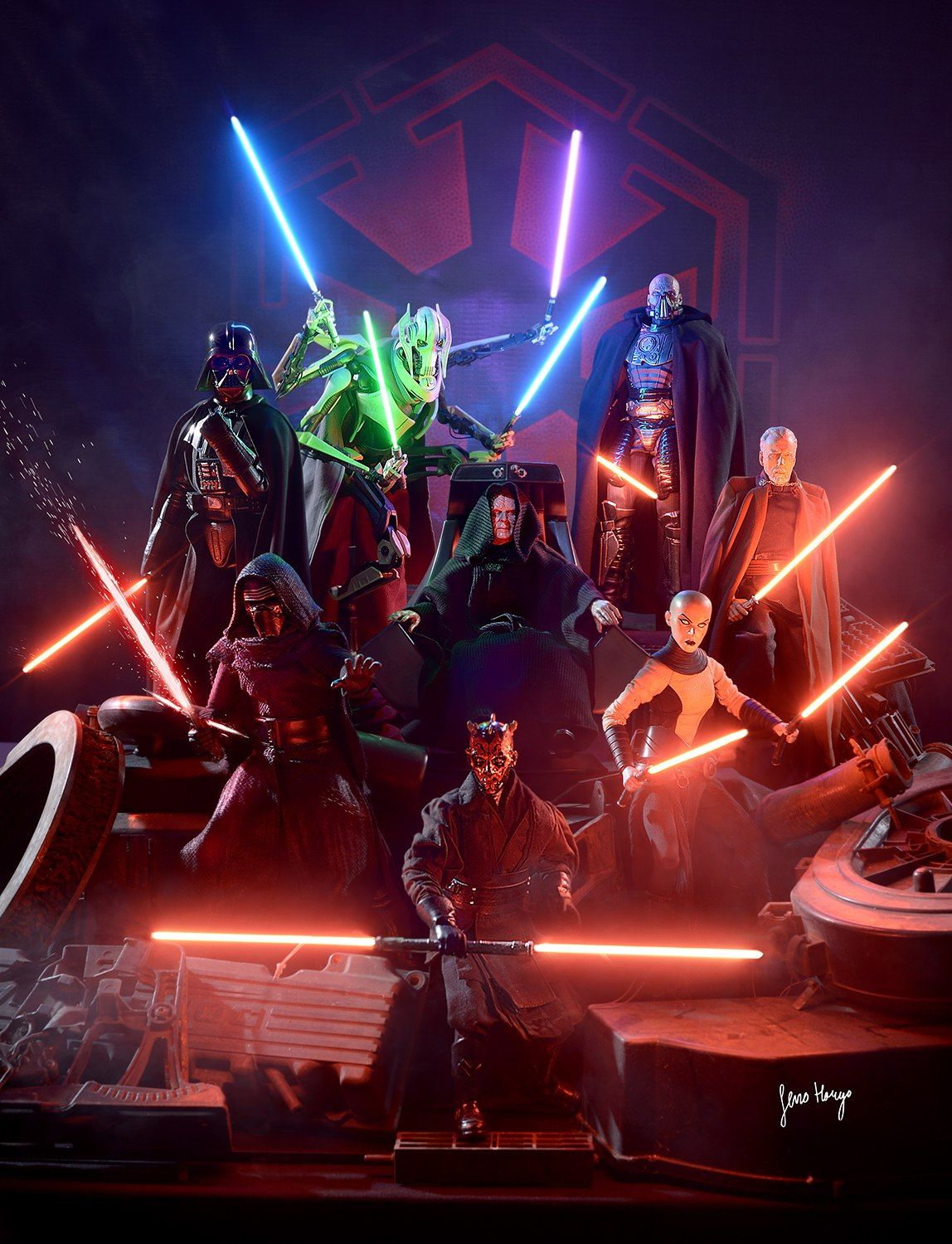 Cannon Dark Side Users And Sith Star Wars Pictures Star Wars
