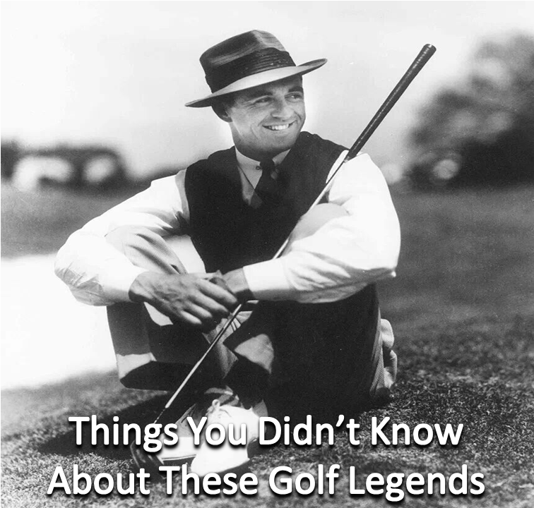 Things You Didn't Know About These Golf Legends Golf