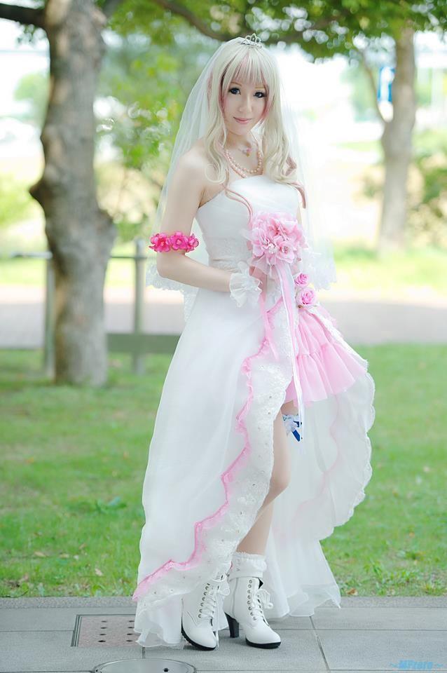 Anime Wedding Cosplay Animation Cartoon Costume Ideas