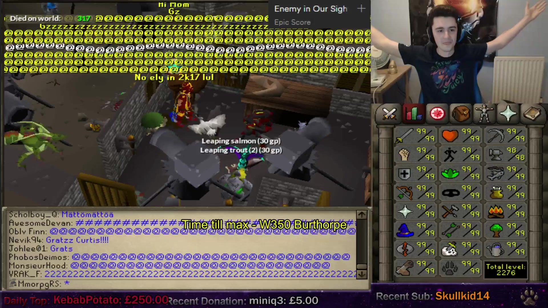 Mmorpgrs Gets Maxed Old School Runescape Competition Epic