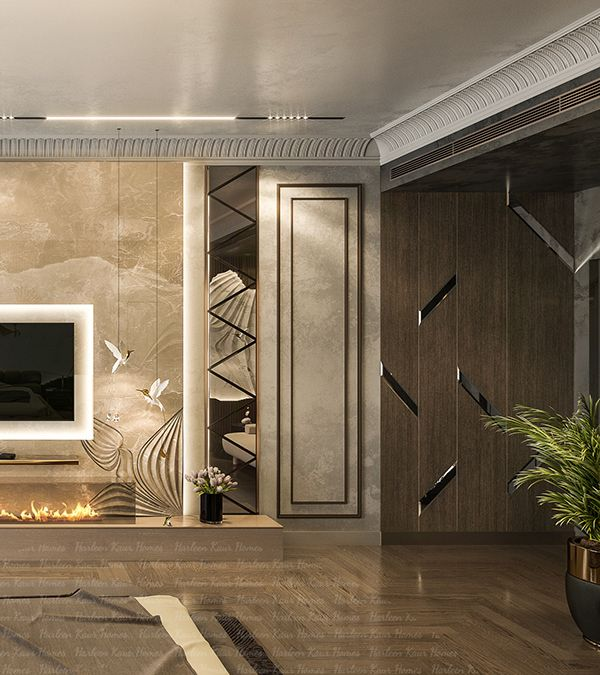 Luxury Master Bedroom Dubai On Behance: Luxury Bedroom On Behance In 2020