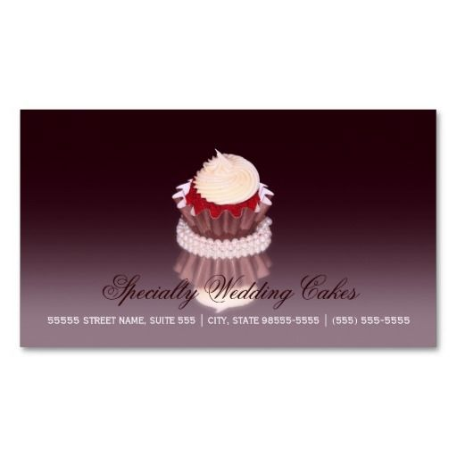 Elegant specialty wedding cake bakery with qr code business card elegant specialty wedding cake bakery with qr code business card reheart Image collections