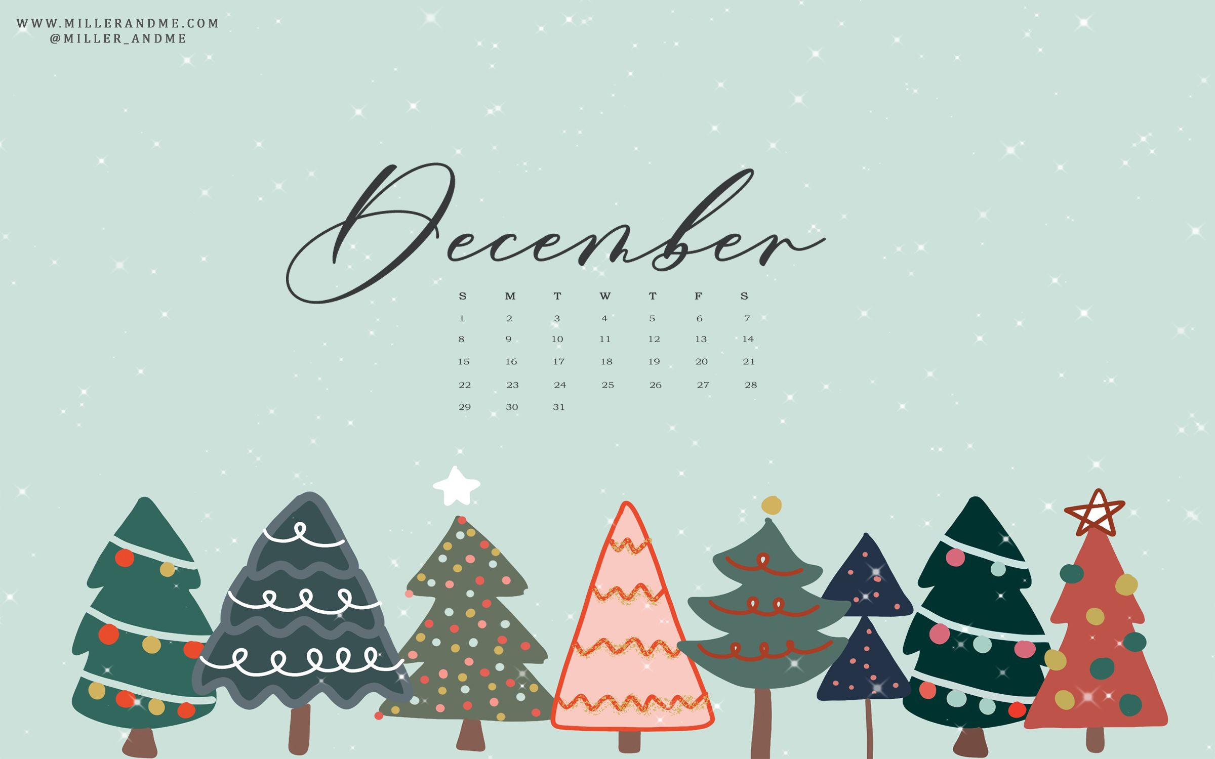 December 2019 Desktop Background Option 1 Miller Me Design Co Wallpaper Iphone Christmas Christmas Desktop Wallpaper Cute Christmas Wallpaper