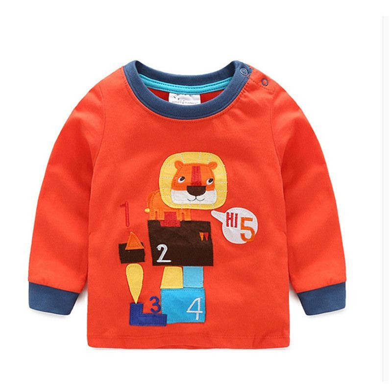 VIDMID Baby Boy Long Sleeve Tee Shirt