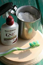 Homemade Toothpaste, grapeseed extract is incredible and can be used for healing!!
