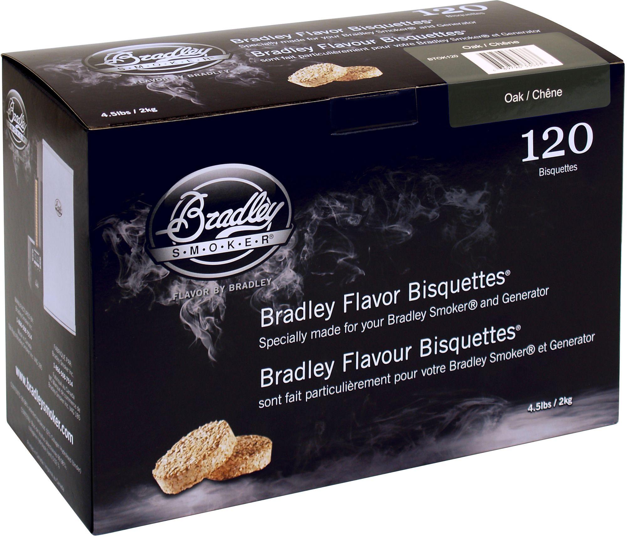 Bradley Smoker Oak Bisquettes Bradley Smoker Bradley Smoker