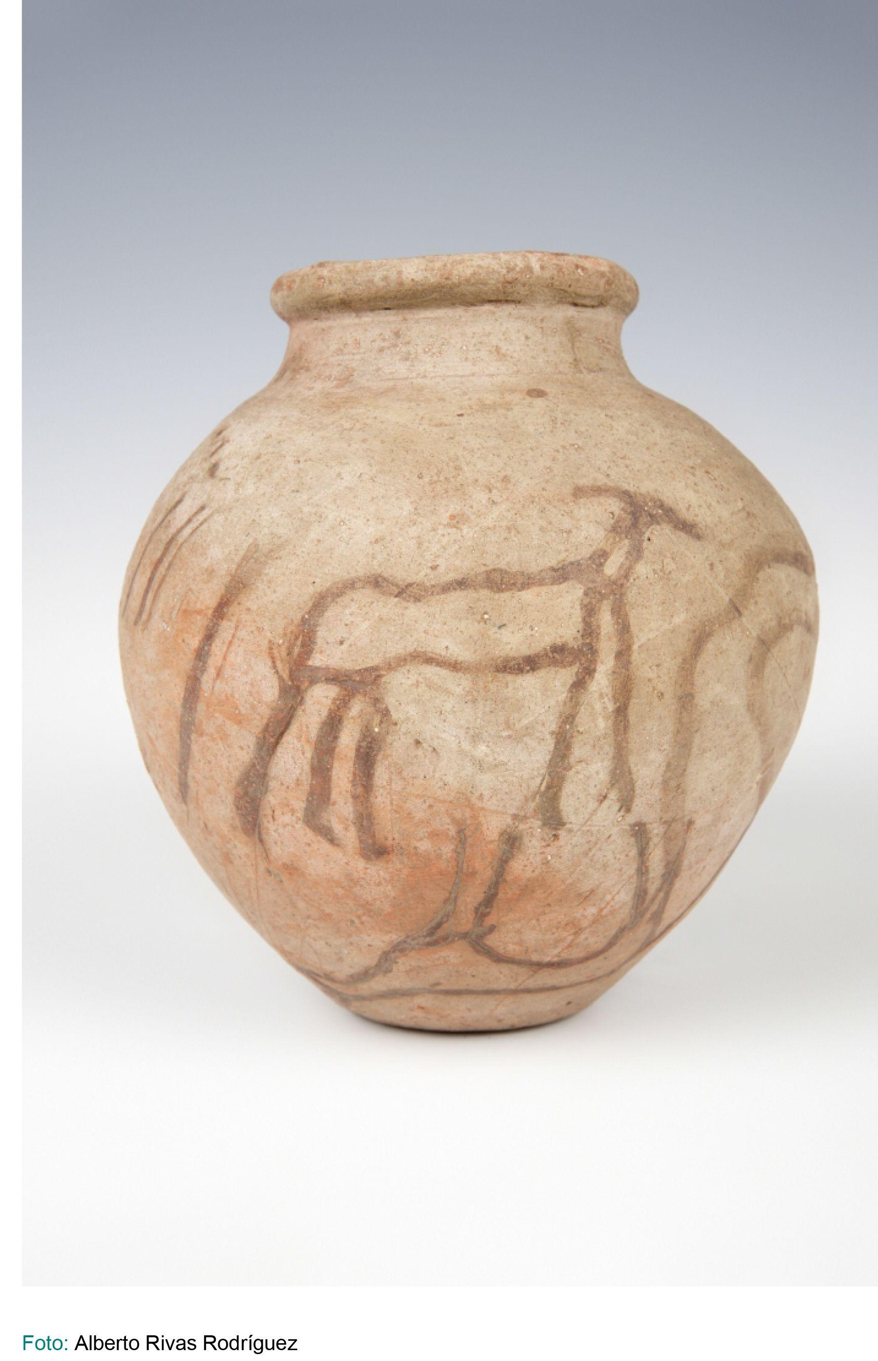Museo Arqueológico Nacional-Vaso-Arcilla rojo-3500[ac]-2800[ac]-procedencia: Nubia S.O.R