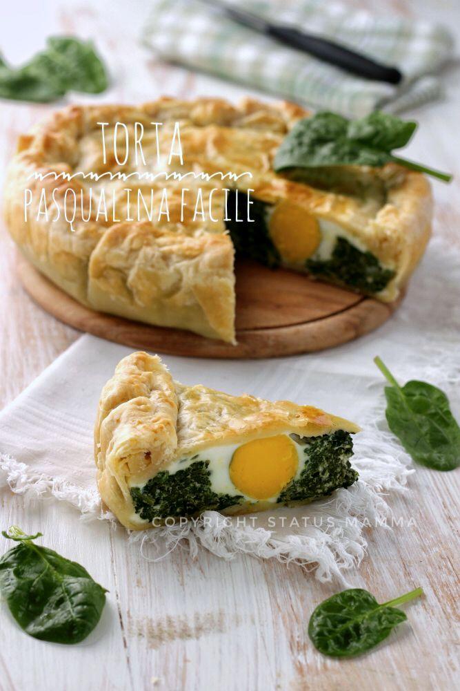 Torta Salata Pasqualina Facile Status Mamma Food Brunch Dishes