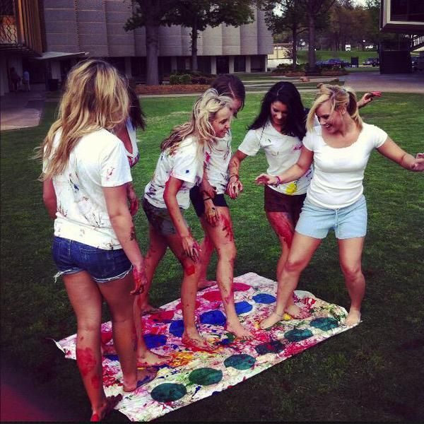 Image result for messy twister with friends tumblr