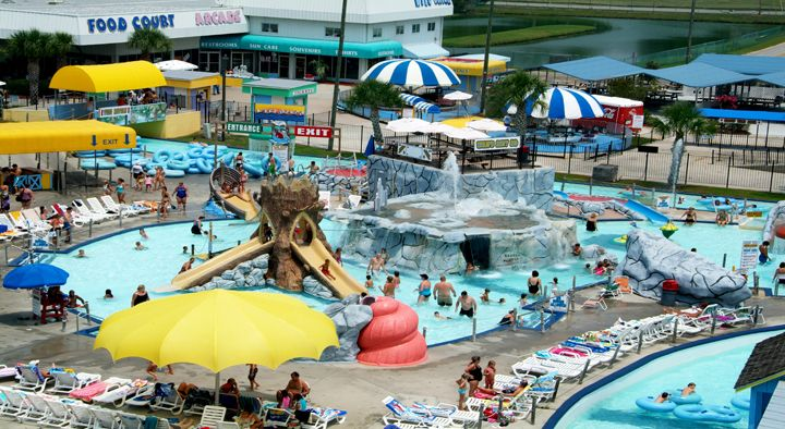 Overview Of Wild Water And Wheels Waterpark In Surfside Myrtle