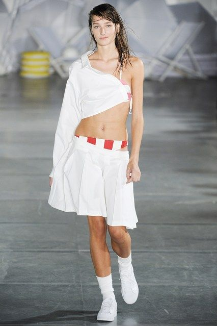 Catwalk photos and all the looks from Jacquemus Spring/Summer 2015 Ready-To-Wear Paris Fashion Week