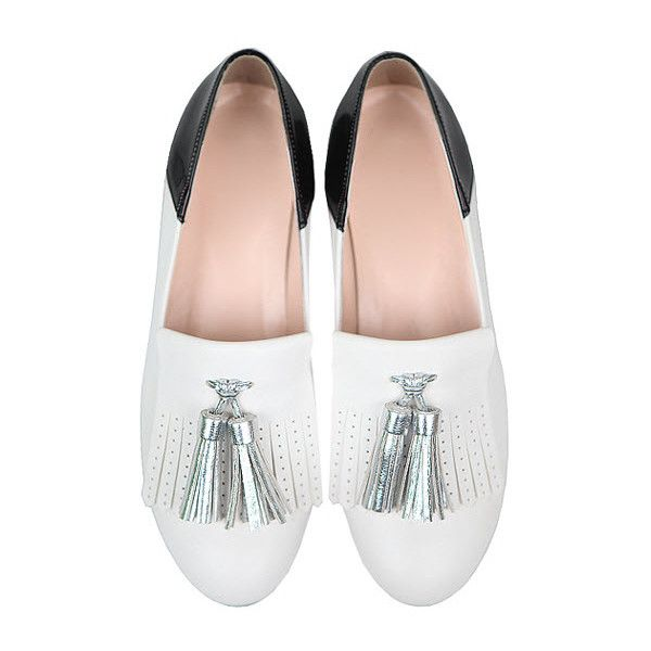 5220f73094ef Flats - Mojo ( 83) ❤ liked on Polyvore featuring shoes