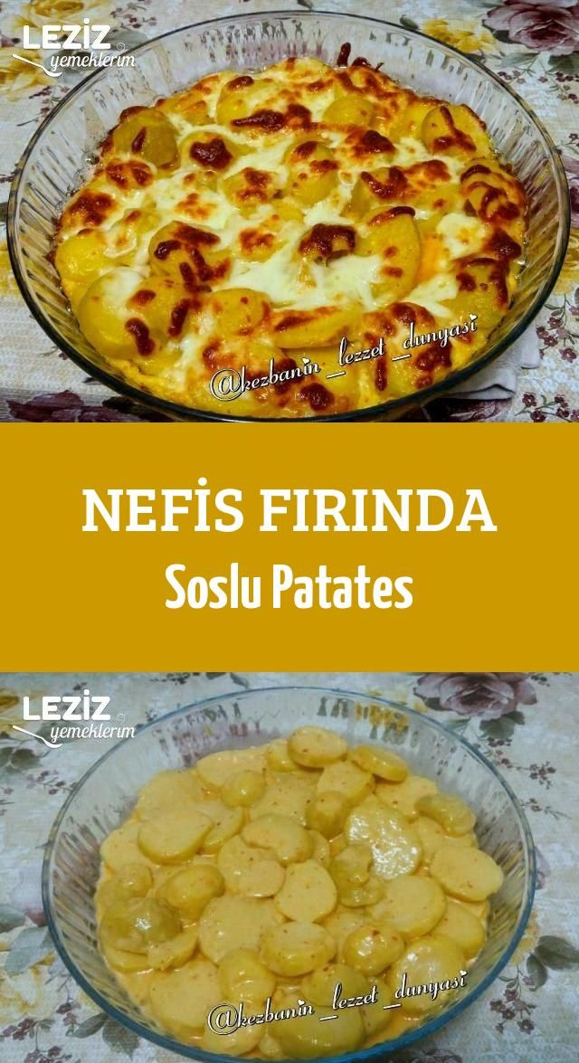 Nefis Fırında Soslu Patates