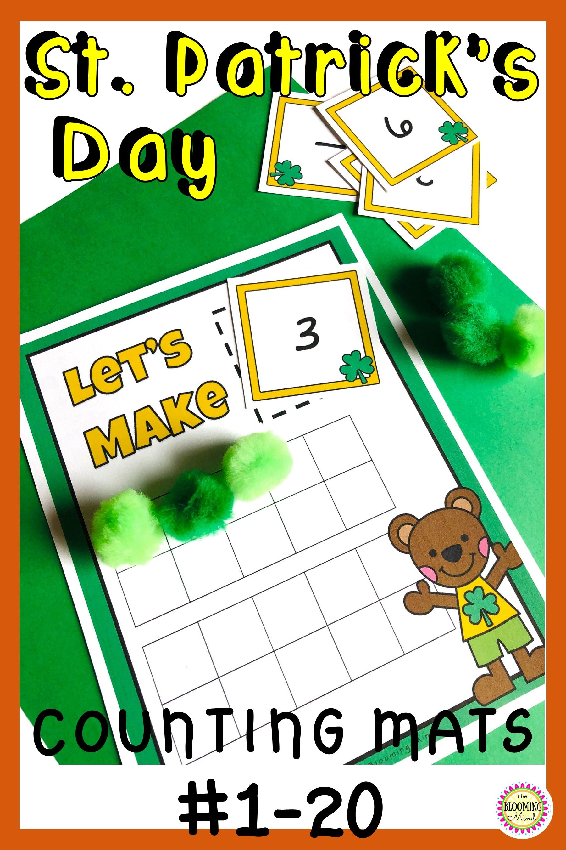 St Patrick S Day Counting Mats