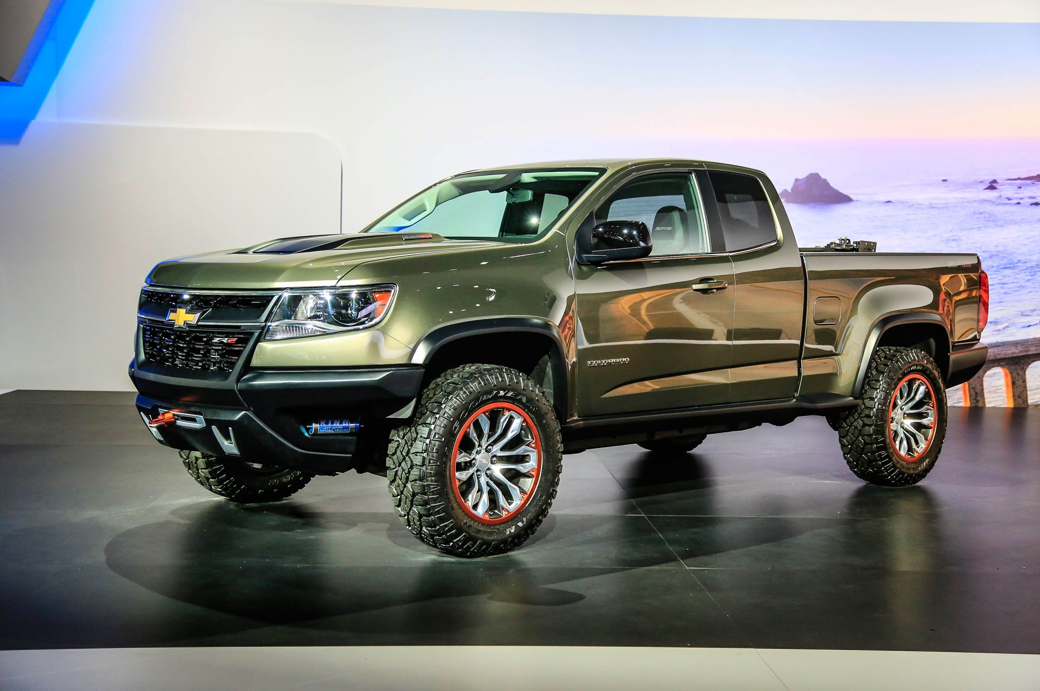 2015 Chevrolet Colorado ZR2 Concept Concept Cars
