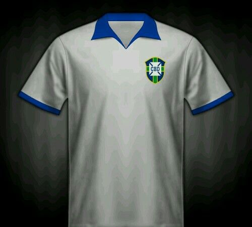 outlet store aac17 39ab7 Brazil home shirt for the 1950 World Cup Finals. | 1950 ...
