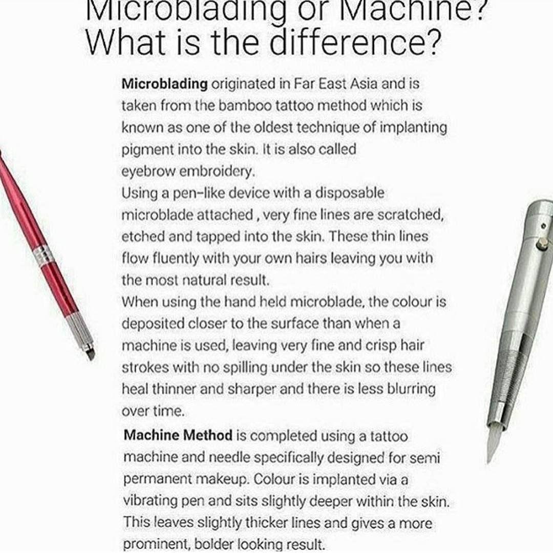 Microblading Microblading eyebrows training
