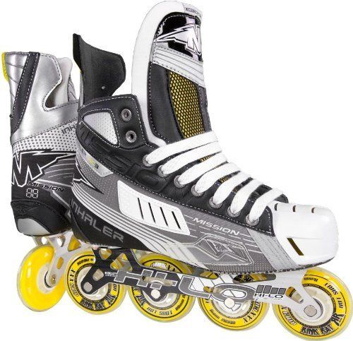 Mission Inhaler Ac3 Senior Inline Hockey Skates D For More Information Visit Image Link This Is An Affiliate Link Inline Skating Inline Hockey Rollerblade