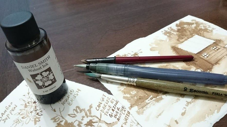 Review: Daniel Smith Walnut Ink | Parka Blogs