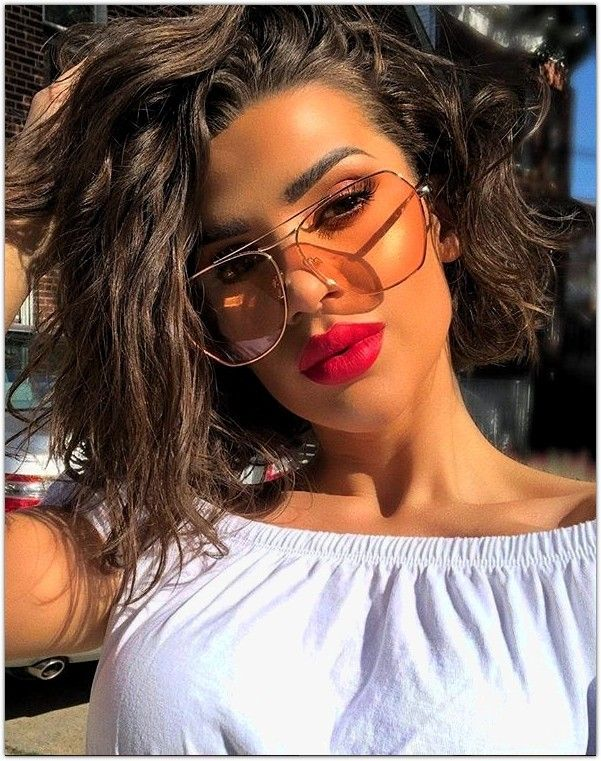 Coupe Cheveux Courts Femme 2019 cheveux courts Round