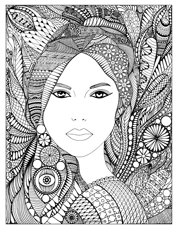 Color Me Lovely: Adult and Teen Coloring Book with Empowering ...