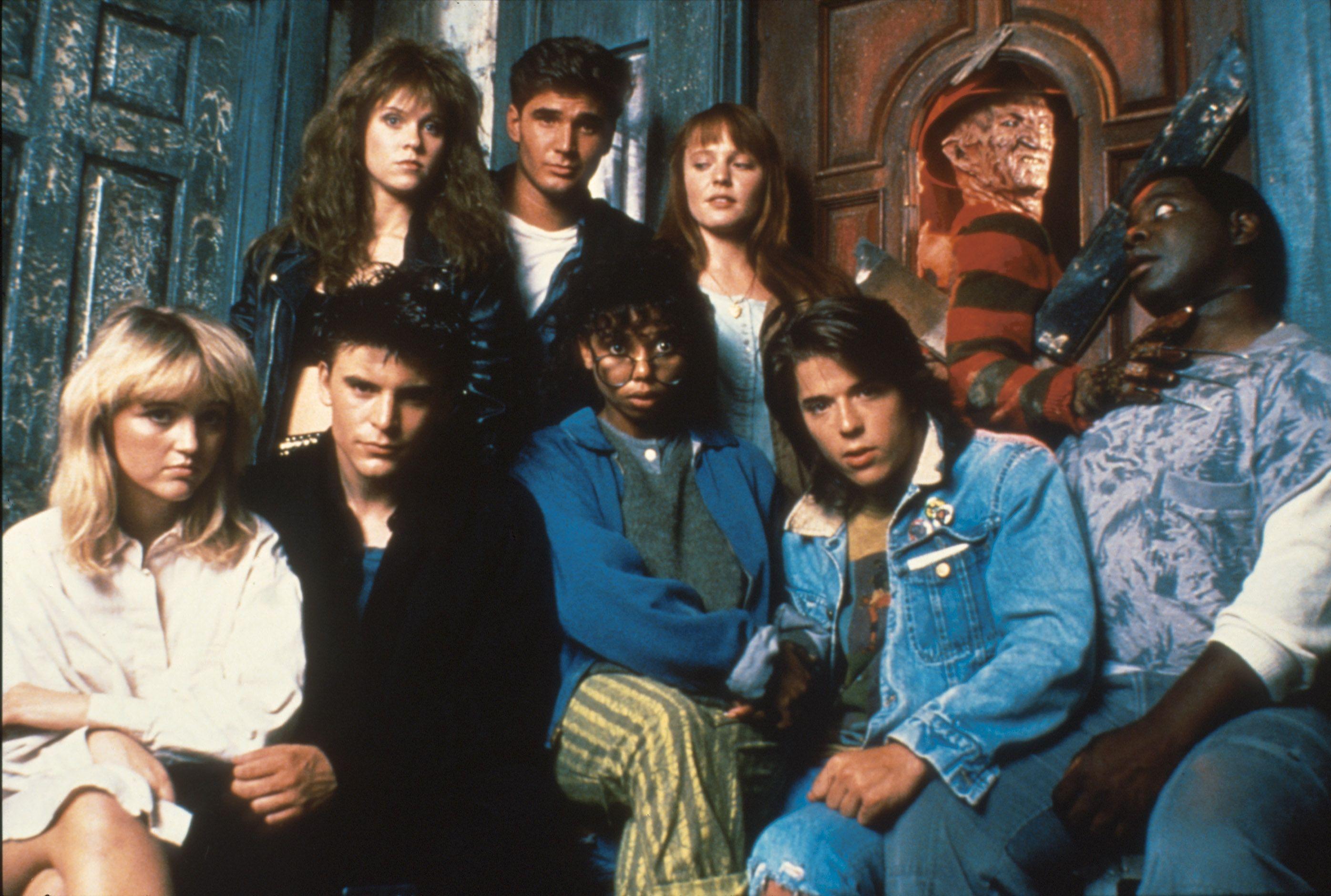 The Dream Master Cast Nightmare On Elm Street A Nightmare On
