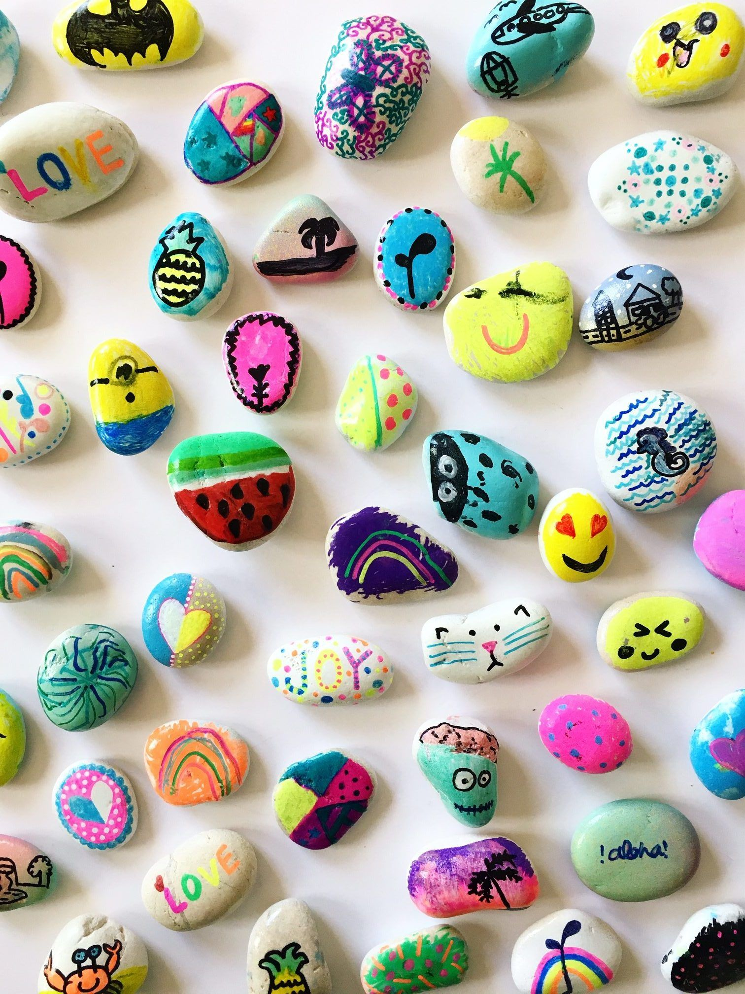 Ideas For Kids Bedroom: Rock Painting Ideas For Kids