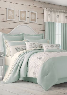 Royal Court Water S Edge Aqua Comforter Set Comforter Sets Aqua
