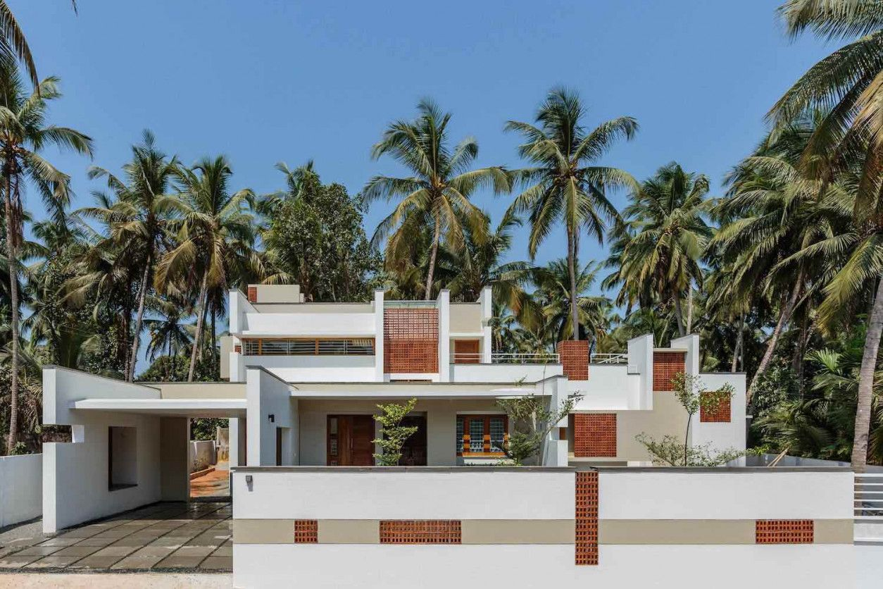 In X Hale Residence in Maranchery India by architecture SEED