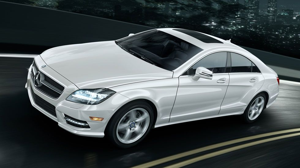 CLSClass Coupe CLS550, CLS63 AMG Vehicle Gallery