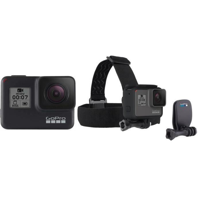 techniques modernes profiter du prix de liquidation meilleur prix pour GOPRO HERO7 Caméra de sport Action Cam Noir + Bandeau ...