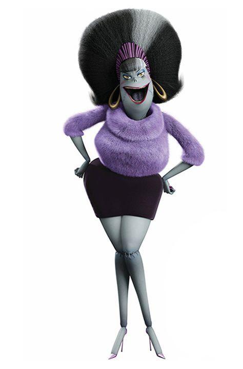Eunice, esposa de Frankenstein, do desenho Hotel Transylvania ...