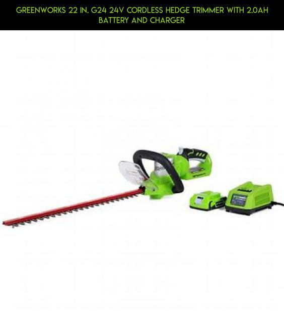 Greenworks 22 in. G24 24V Cordless Hedge Trimmer With 2.0Ah Battery And Charger #with #hedge #parts #cordless #drone #tech #fpv #products #gadgets #charger #battery #trimmers #camera #technology #kit #and #plans #shopping #racing