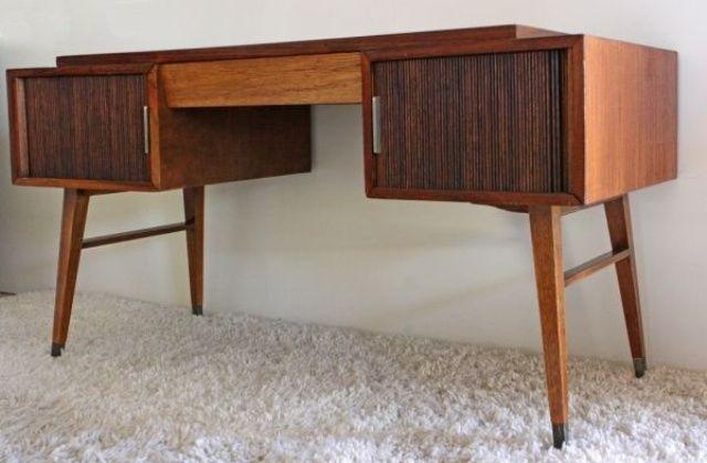 Mid Century Desk Desk Designs Pinterest Mid century desk