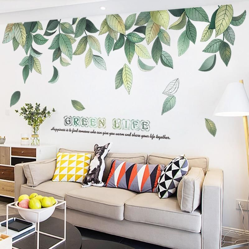 Leaves Wall Stickers Wall Decals Wall Stickers Leaves Beautiful Wall Decor Wall Decor