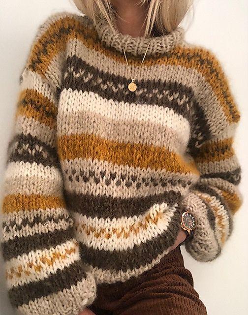 My fall sweater #strikkeoppskriftgenser