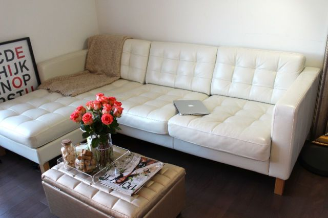 Prime Gorgeous Ivory Leather Sectional Sofa For Sale Couches Beatyapartments Chair Design Images Beatyapartmentscom